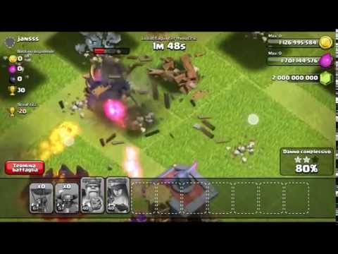 Clash of clans mod v7.65 no root with PvP Latest