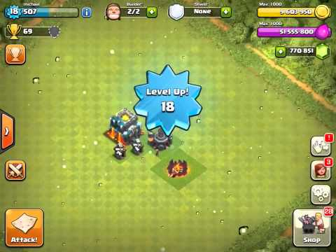Clash of Clans Universal Unlimited Mod/Hack v7.65 APK free download [New]