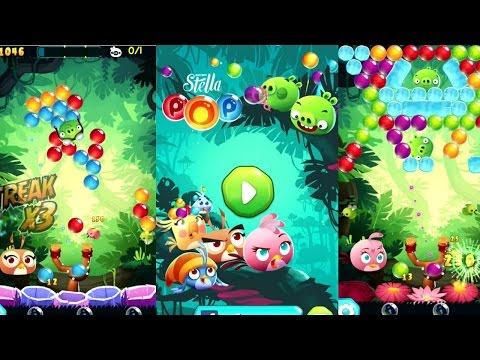 Angry Birds Stella POP! Android Gameplay