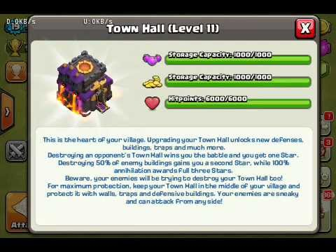 Clash of Clans Unlimited Mod/Hack v6.407.2 APK (Update TH11 & Barbarian Tower)