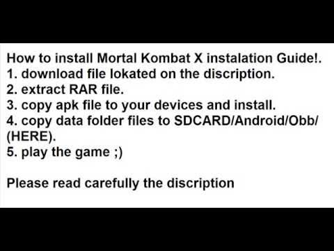 Mortal Kombat X 1.1.0 Mod (Unlimited Money) apk+data (zippyshare links)