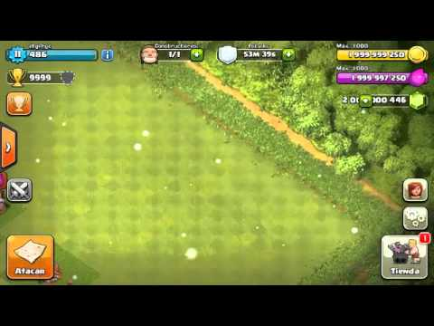 Clash Of Clans mod 7.65.2 hack sin root