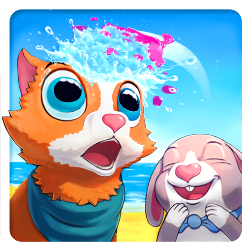 Peppy Pals Beach - Fun EQ Kids v 1.073 apk