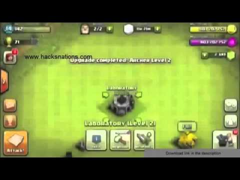 Clash of clans 7.1.1 apk mod with ultimate money
