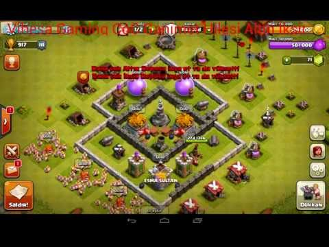 Clash of Clans 7.65.5 Elmas Hilesi