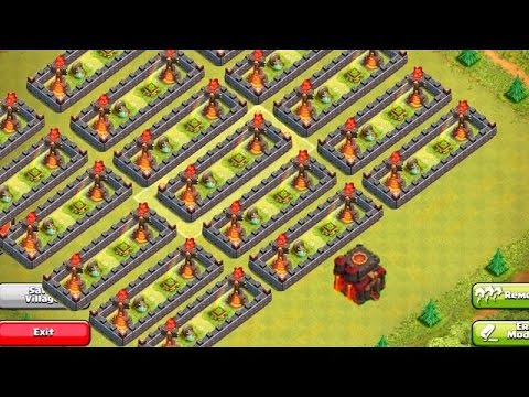 CLASH OF CLANS 7.65 PRIVATE SERVER (UPDATE) 2015