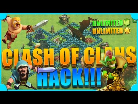 Clash of Clans: Hack/Mod apk 2015 *NEW* *UPDATE* FHx-v5 + WITH TUTORIAL