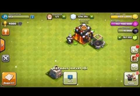 Clash Of Clans Hack Mod apk 6 407 (Christmas Version