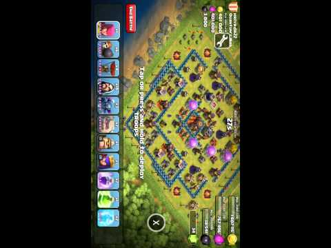 Clash of clans Unlimited Troops Hack Root(Patched)
