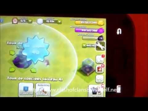 Hack Clash Of Clans v6.186.3 ( ANDROID ROOTER ) 30/07/14