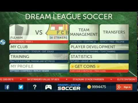 How to hack dream league soccer Android no root